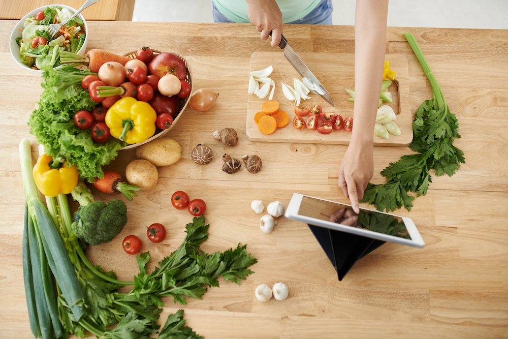 Gå ned i vikt med kostplan