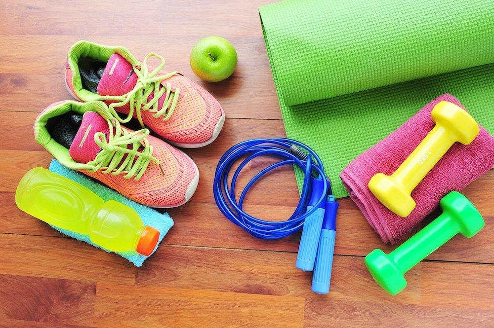 Träningsredskap för träning hemma