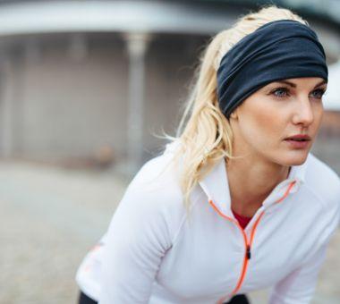 en person som ser motiverad ut till att träna