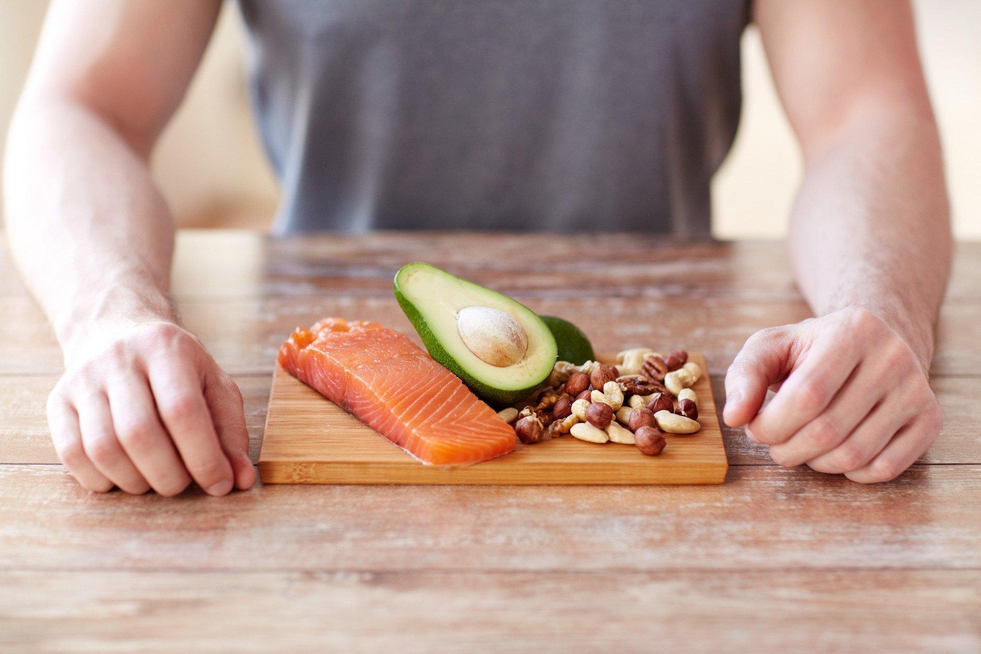 mat med högt proteininnehåll