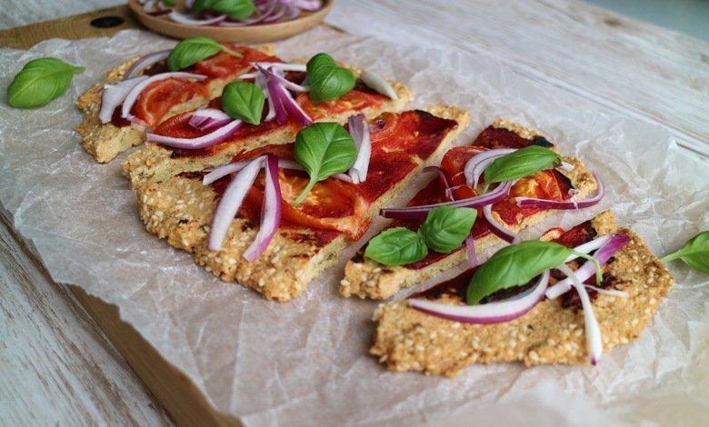 lågkalori pizza