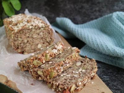 veganskt glutenfritt bröd