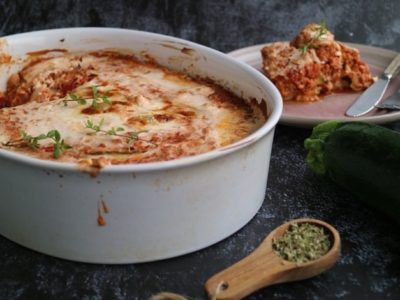 lavkarbo lasagne med squash