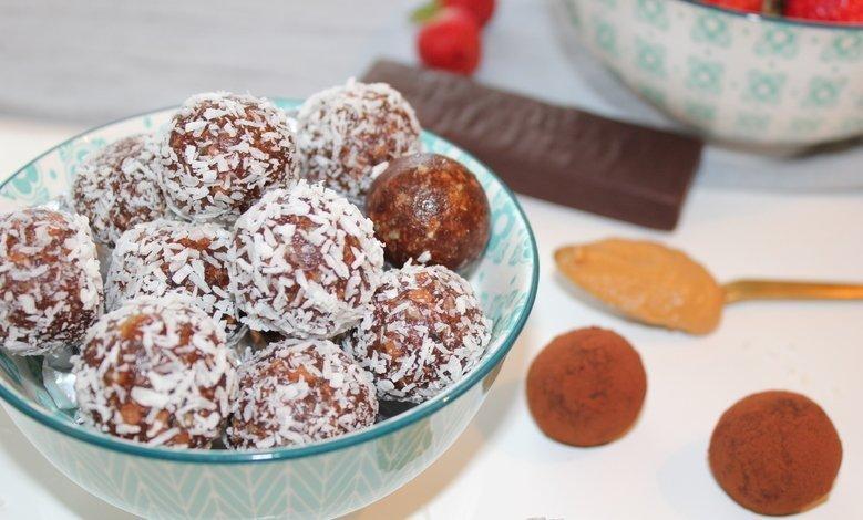 Nyttigt recept Chokladbollar