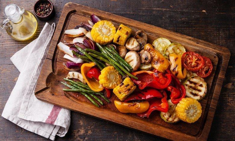 mat utan kalorier grillning