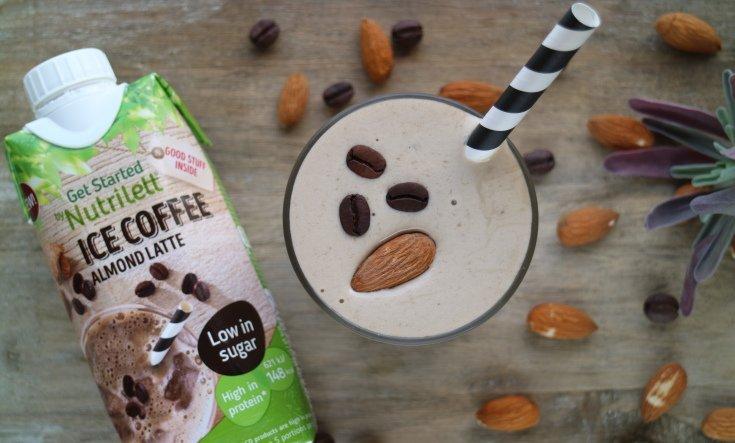matig smoothie med iskaffe